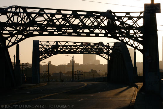 Sixth Street Bridge by Jeremy D. Horowitz